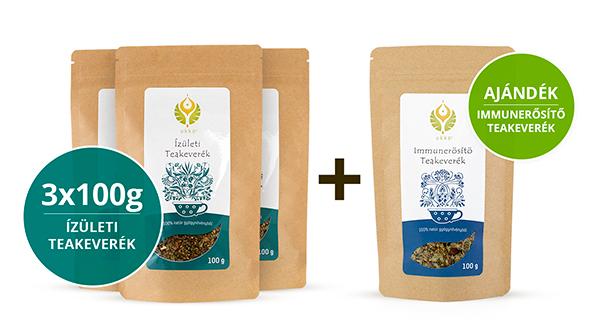 Ízületi teás Hullámtörő csomag Immunerősítő teával