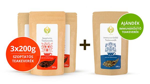 Szoptatós tea Hullámtörő csomag Immunerősítő teával