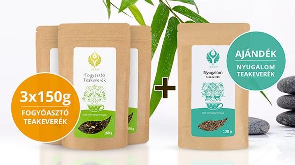 Fogyasztó teás Relax csomag Nyugalom teával