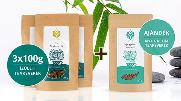 Ízületi teás Relax csomag Nyugalom teával