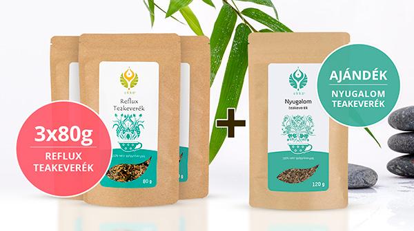 Reflux teás Relax csomag Nyugalom teával