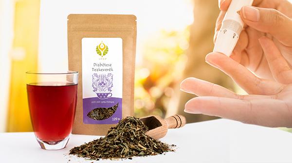 Diabétesz Teakeverék cukorbetegeknek - finom szálas tea, gyógynövényekből