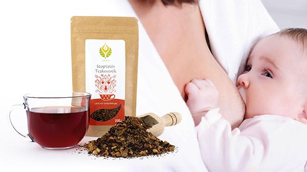 Tejtermelést segítő gyógynövényekkel, a megfelelő mennyiségű és minőségű anyatejért