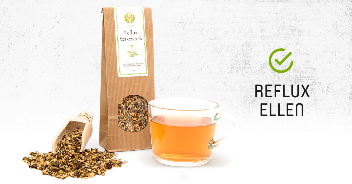 Reflux ellen: UKKO Reflux Tea