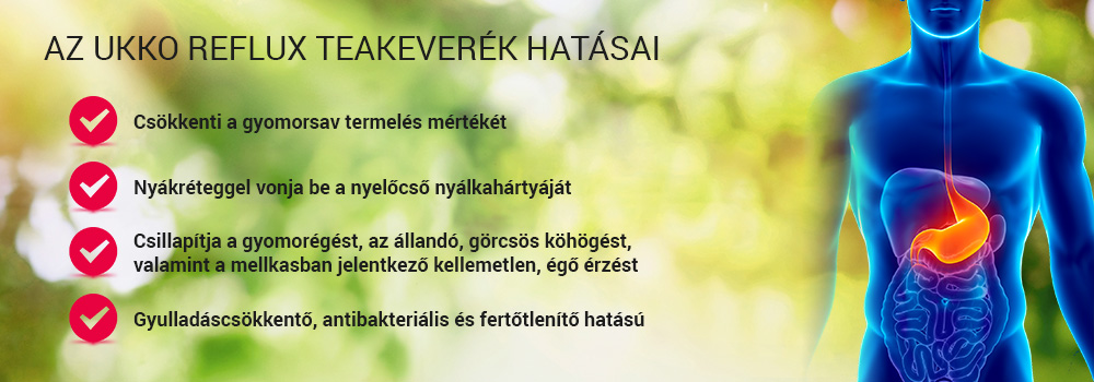 Gyomorsav ellen tea